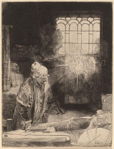 Rembrandt van Rijn, 'Faust', ca. 1652