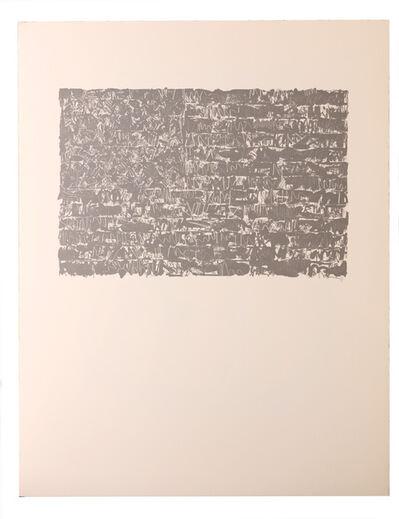 Jasper Johns, 'Flag III 1986'