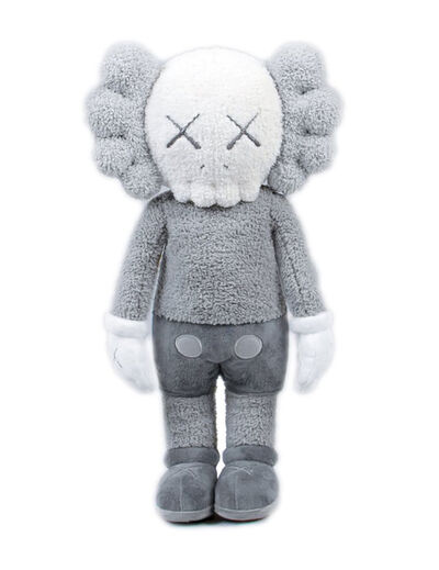 KAWS, ''Holiday Hong Kong Plush' (grey)', 2019