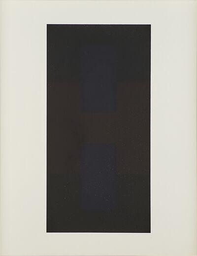 Ad Reinhardt, '# 9 from Ten Screenprints by Ad Reinhardt', 1966