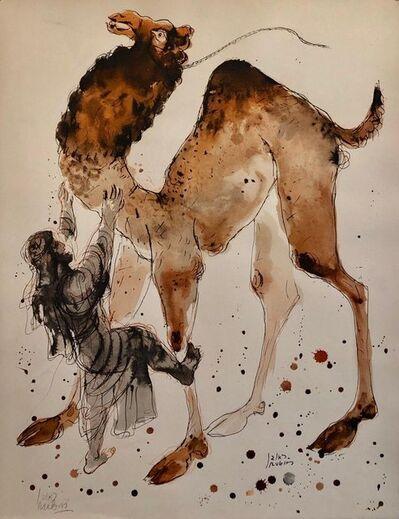 Reuven Rubin, 'Modern Israeli Lithograph Reuven Rubin Views Of Israel Judaica Camel Rider', 1960-1969