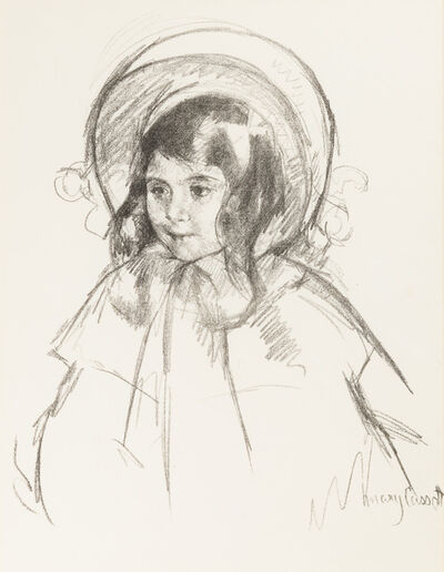 Mary Cassatt, 'Sara Wearing Her Bonnet and Coat', ca. 1904