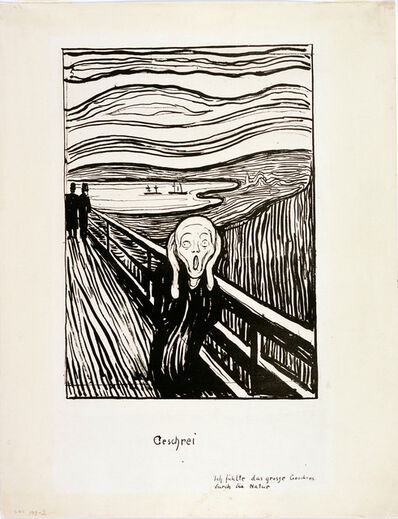 Edvard Munch, 'The Scream', 1895