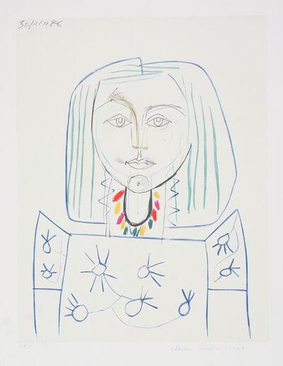 Pablo Picasso, 'Portrait de Femme au Collier, 1946', 1979-1982