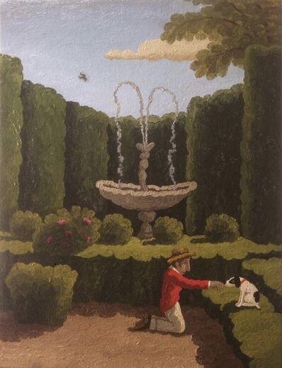 Ramiro Fernandez Saus, 'Conversation in the Garden', 2021
