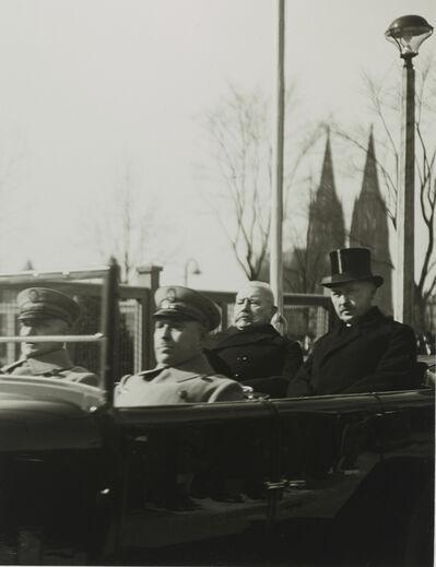 August Sander, 'President von Hindenburg and Mayor Konrad Adenauer', 1926