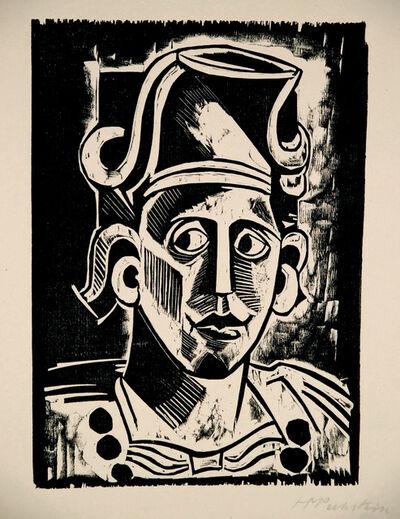 Max Pechstein, 'Exotische Köpfe VI (Exotic Heads VI)', 1915