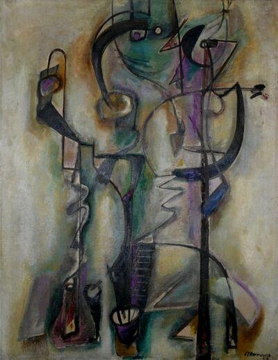 Mariano Rodriguez, 'Pareja', 1952