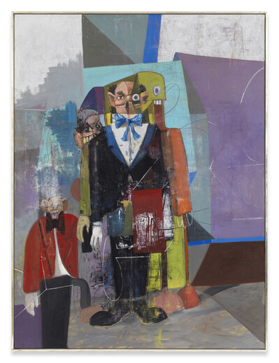George Condo, 'The Homeless Butler', 2009