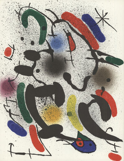 Joan Miró, 'Lithograph Original VIII', 1972