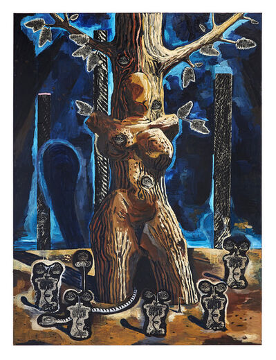 Damien Deroubaix, 'Baum VI (Gaïa)', 2019