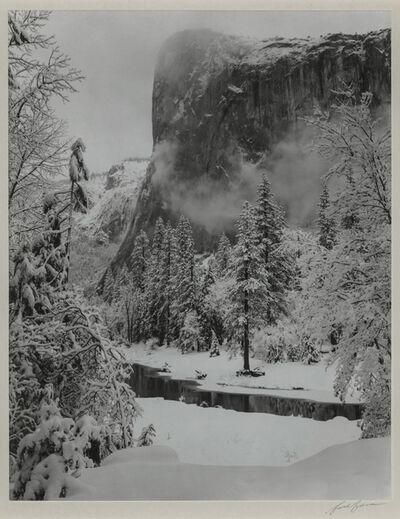 Ansel Adams, 'El Capitan, Winter, Yosemite National Park', 1948