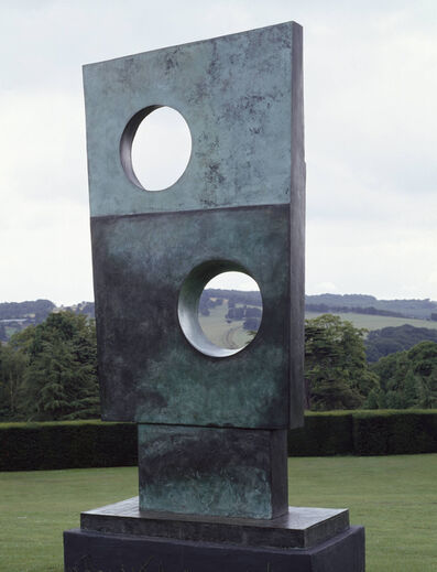 Barbara Hepworth, 'Squares with Two Circles', 1963