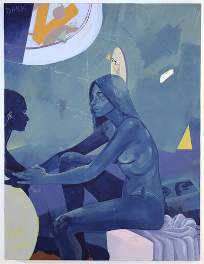 Nadia Waheed, 'Blue Portrait', 2018