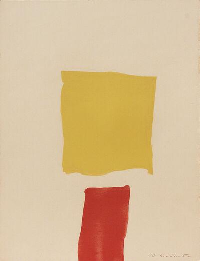 Kenneth Lochhead, 'Yellow Head', 1962