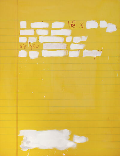 Scott Avett, 'Journal Page #2', 2018