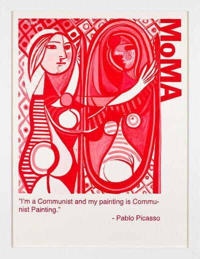 Yevgeniy Fiks, 'Communist Tour of MoMA (Pablo Picasso)', 2010