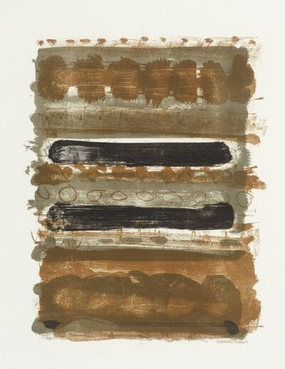 Patrick Heron, 'Grey and Brown Stripes', 1958