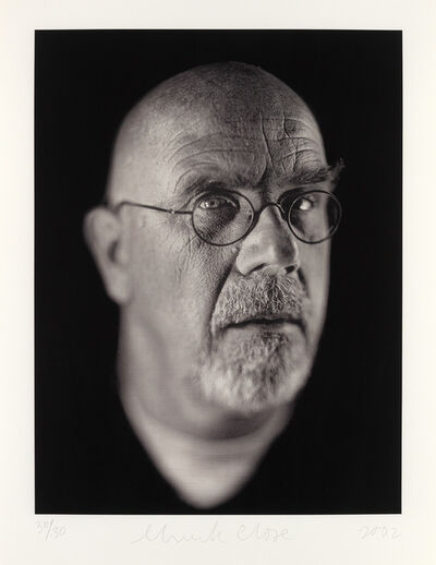 Chuck Close, 'Self Portrait Portfolio', 2002