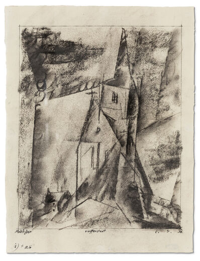 Lyonel Feininger, 'Umpferstedt', 1932