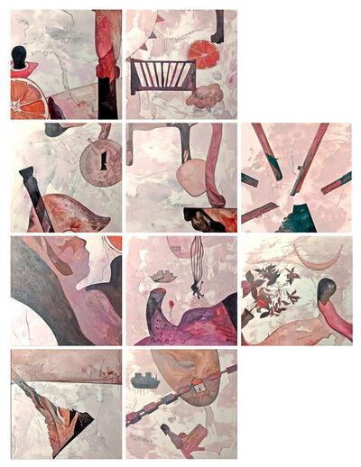 "Ritu Sinha, '""Dialogue"" (10 Pieces) - Contemporary Work on Paper by Indian Artist Ritu Sinha', 2018"