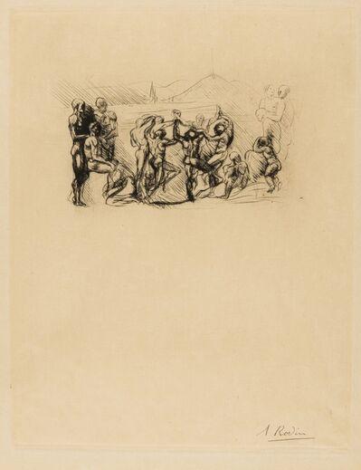 Auguste Rodin, 'La Ronde (Thorson 5 ii/iii)', 1883-84