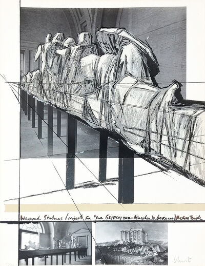 Christo and Jeanne-Claude, 'WRAPPED STATUES', 1988