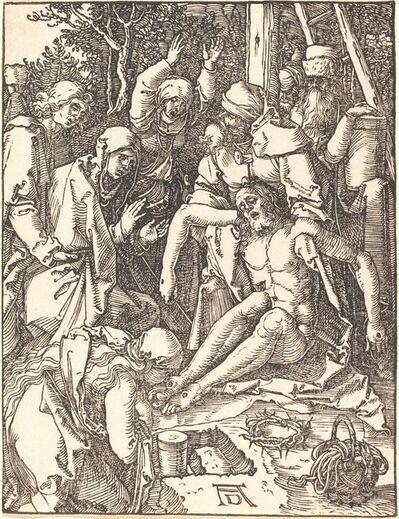 Albrecht Dürer, 'The Lamentation', probably c. 1509/1510