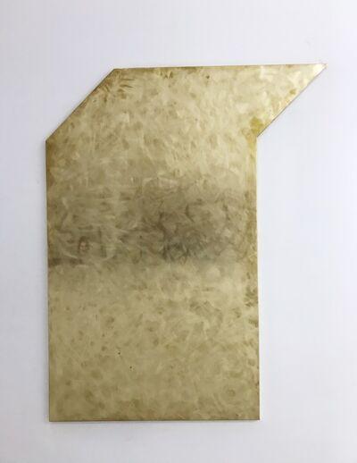 Mark Dagley, 'Untitled (Brass Relief 2)', 2017