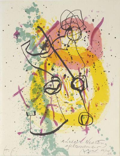 Joan Miró, 'Renouveau du Relief – Renewal of Springtime', 1961