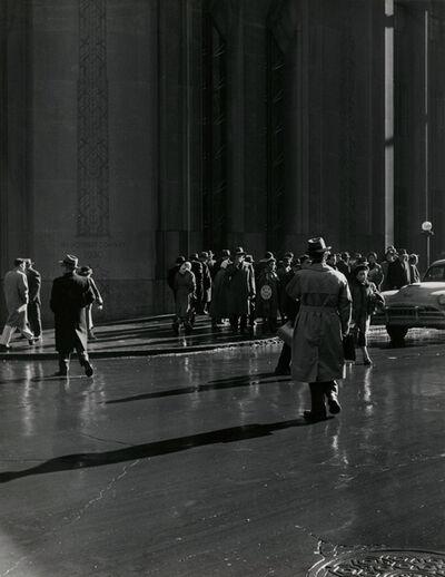 Todd Webb, 'Lower Broadway, New York', 1956