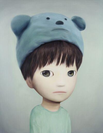Mayuka Yamamoto, 'blue bear hat', 2018