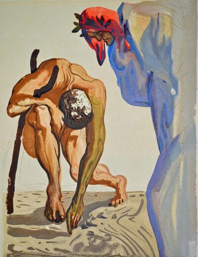 Salvador Dalí, 'The Princes of the Blossoming Valley, Purgatorio Canto 7,The Divine Comedy', 1960
