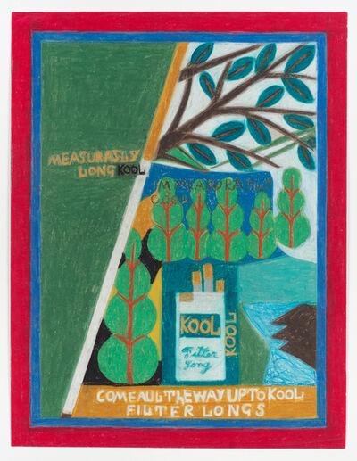 Eddie Arning, 'Untitled (Measurably Long Kool)'