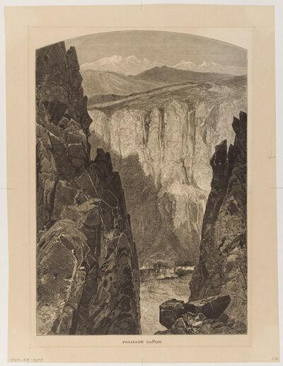 Thomas Moran, 'Palisade Canon', 1874