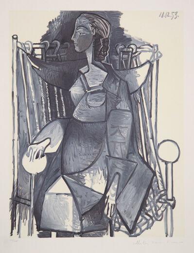 Pablo Picasso, 'Femme Assise dans un Fauteuil Tresse, 1953', 1979-1982