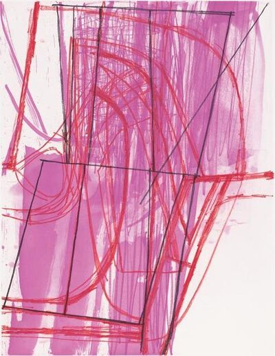 Amy Sillman, 'N & V', 2007