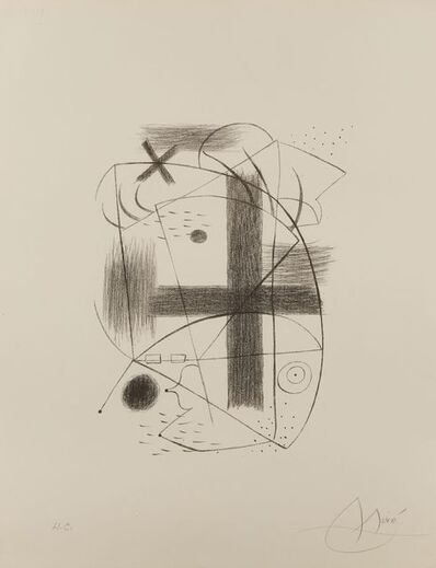 Joan Miró, 'Lithographie II [Maeght 1A]', 1930