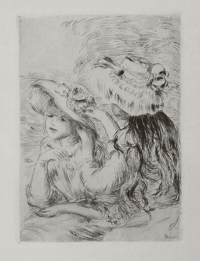 Pierre-Auguste Renoir, 'Le Chapeau épinglé', 1912
