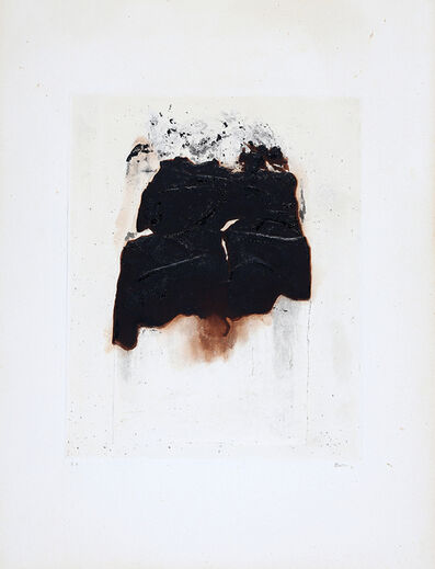 Alberto Burri, 'Combustione 1', 1965