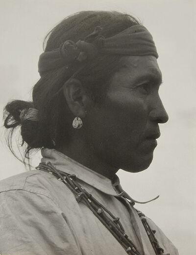 Laura Gilpin, 'Setah Begay, Navaho Medicine Man', 1933