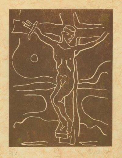 Adrian Wiszniewski, 'Madonna and Child Study & Crucifixion Study', 1999