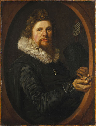 Frans Hals, 'Portrait of a Man', ca. 1614