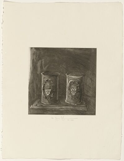 Jasper Johns, 'Ale Cans (from the portfolio 1st Etchings - 2nd State)', 1967-1969
