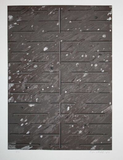 Juhana Blomstedt, 'Grey-Brown Abstract H.C.', 1982
