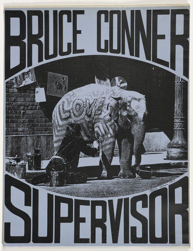 Dagny Corcoran, 'BRUCE CONNER SUPERVISOR', 1967