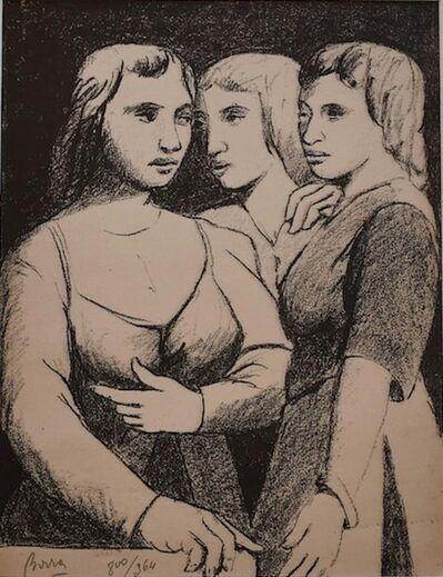 Pompeo Borra, 'Three Twins', 1950's
