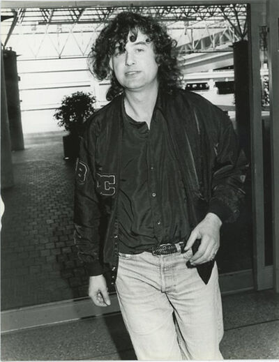 Unknown, 'Jimmy Page Led Zeppelin LAX Airport 1988', 1988