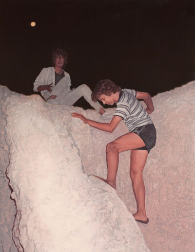 Alex Roulette, 'Night Climb'