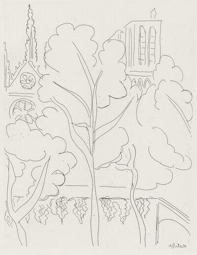 Henri Matisse, 'La Cité - Notre-Dame', 1937